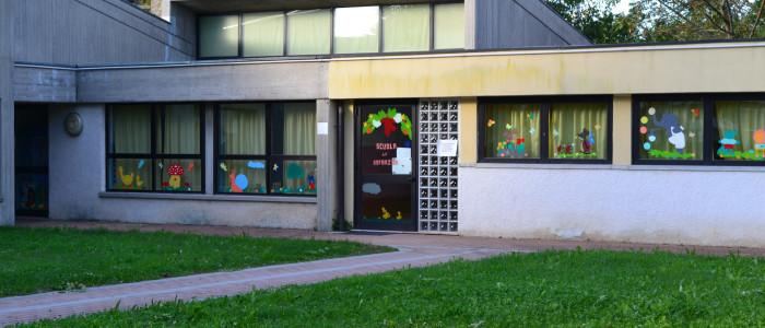 Scuola dell'Infanzia di cristo Risorto, veduta esterna