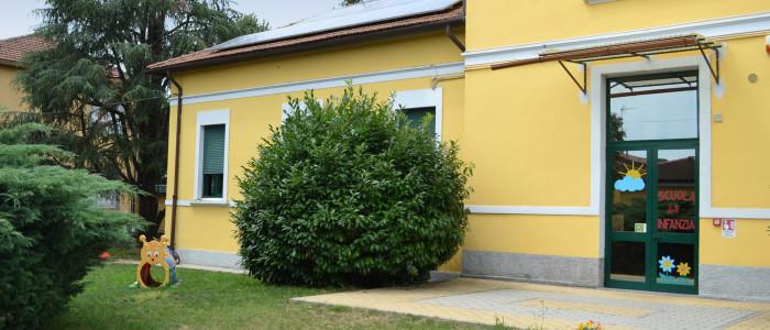 Scuola dell'Infanzia di Cascine San Pietro, veduta esterna