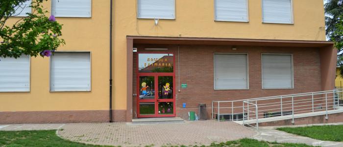 Scuola Primaria di Cascine san Pietro, veduta esterna